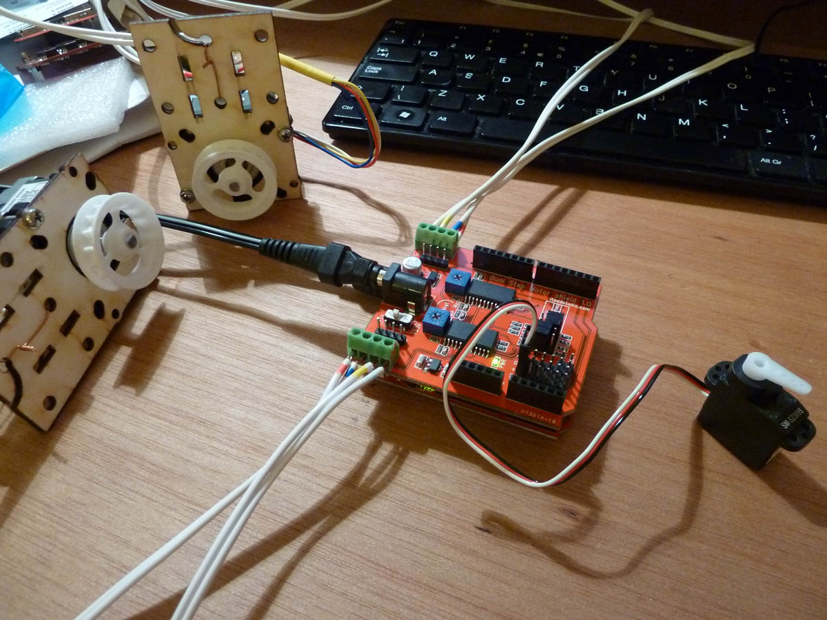 How to control a Stepper Motor with Arduino Motor Shield Rev3